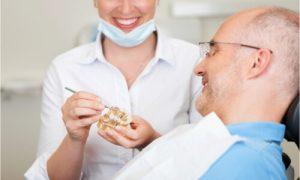 The dentist explains the holistic alternatives to dental implants.